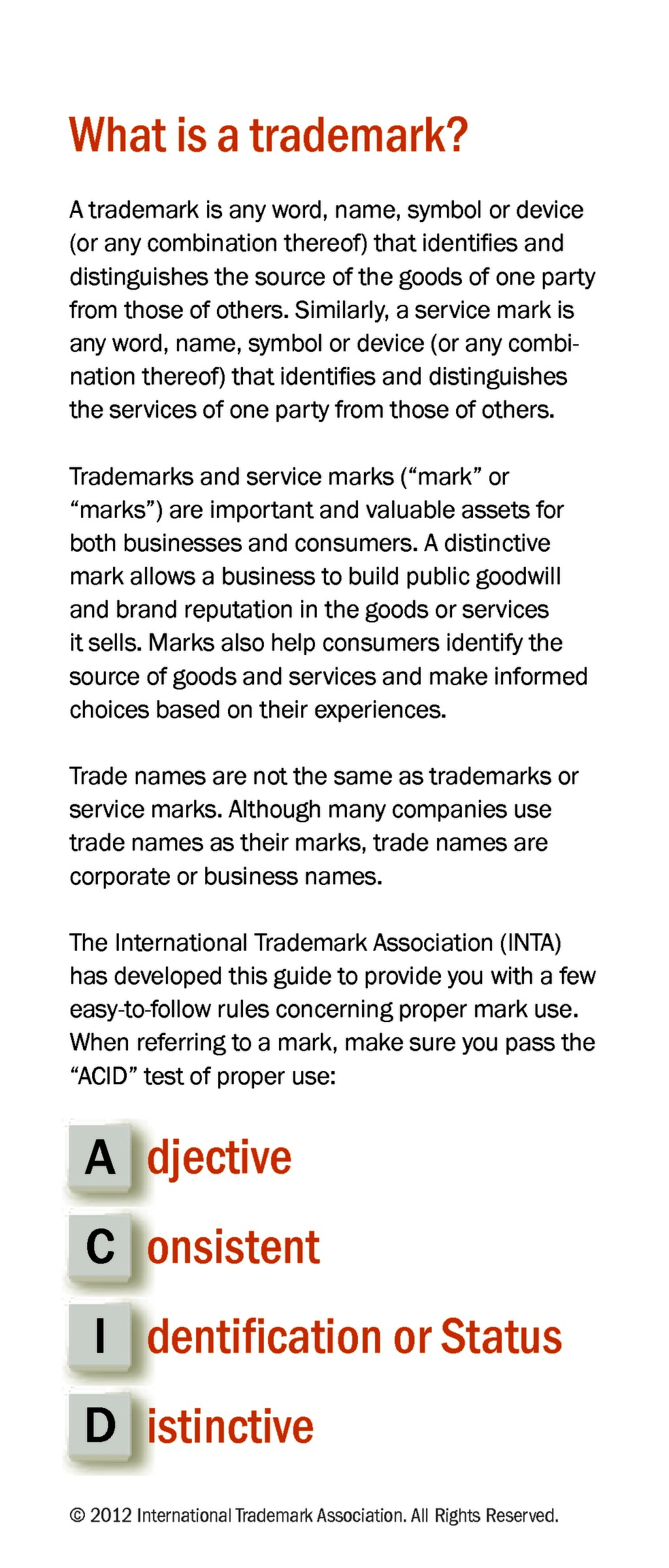 Trademark use guidelines ip management 1 biocorpaavc Image collections